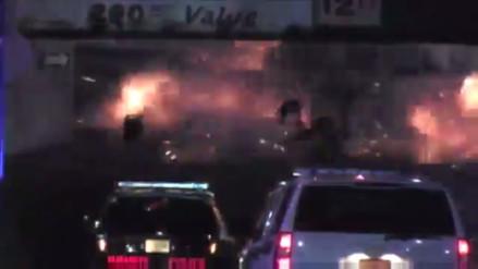 Video: así fue la explosión de un aparato en Nueva Jersey