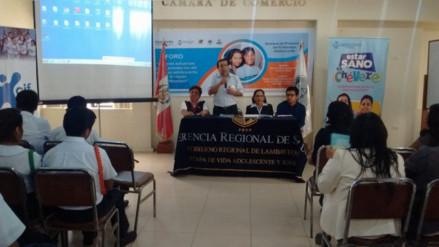 Lambayeque inicia la semana de prevención del embarazo adolescente
