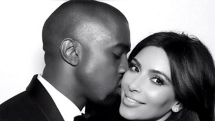 Kanye West le regaló a Kim Kardashian otro gigante anillo de diamante