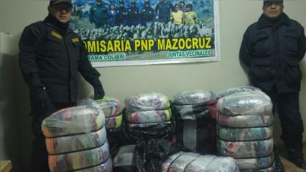 El Collao: incautan mercadería de contrabando valorizada en S/. 12 mil