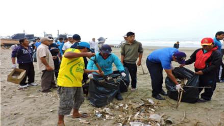 Chiclayo: continuarán recogiendo basura en la playa de Santa Rosa
