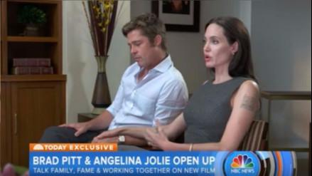 Angelina Jolie sobre Brad Pitt hace un año: