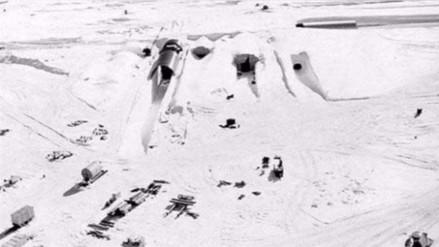 El deshielo en Groenlandia hace emerger una base secreta estadounidense