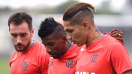 Paolo Guerrero se recuperó y será titular con Flamengo en la Copa Sudamericana