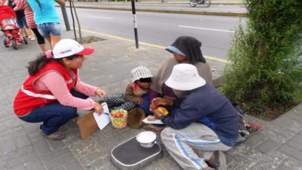 Chiclayo: Yachay detectó casos de mendicidad encubierta en niños