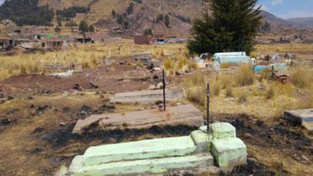 Trasladan 120 cadáveres de cementerio para construir local del Ministerio Público