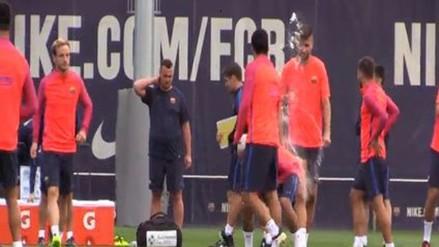 La broma de Luis Suárez y Neymar que tuvo como 'víctima' a Gerard Piqué