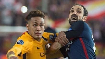 Juanfran y la crítica a Neymar que calienta el Barcelona vs. Atlético de Madrid