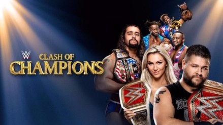 Conoce la cartelera completa de WWE Clash of Champions