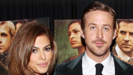 Ryan Gosling y Eva Mendes se casaron en secreto