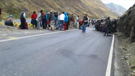 Seis personas fallecidas dejaron accidentes de tránsito en Calca