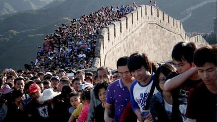 Las 8 fotos que muestran cuán sobrepoblada de gente está China