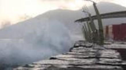 Chimbote: cierran puertos y caletas por oleajes anómalos