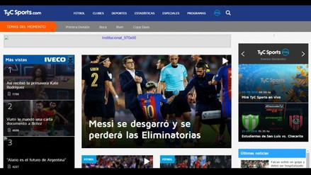 Así informó la prensa argentina sobre la lesión de Lionel Messi