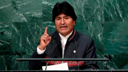 "Evo Morales arremete contra la OEA: ""Es capataz del imperio"