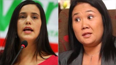 Verónika Mendoza a Keiko Fujimori: