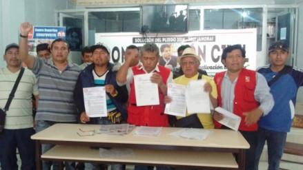Piden suspensión del sindicato regional por sus presuntos nexos con bandas delictivas