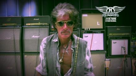 YouTube: guitarrista de Aerosmith saluda a Perú [VIDEO]