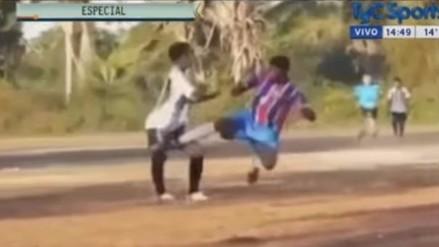 Las patadas más violentas en la historia del fútbol amateur