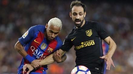 Barcelona y Atlético benefician al Real Madrid tras igualar 1-1