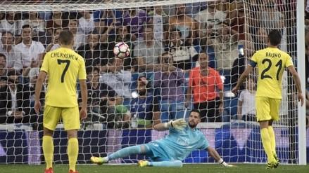 Bruno silenció el Bernabéu 'picando' la pelota en el penal