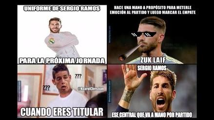 Real Madrid es víctima de memes tras empatar ante Villarreal en el Santiago Bernabéu