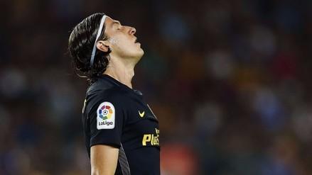 Filipe Luis mostró cómo quedó su pie tras jugar ante Barcelona