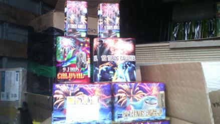 e05c2d713fd38 La Oroya  decomisan cinco cajas de productos pirotécnicos