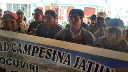 Pobladores de Ocuviri y Vila Vila rechazan instalación de mesa de diálogo