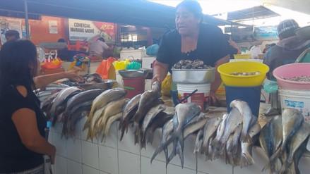 Se incrementó precio del pescado por oleajes