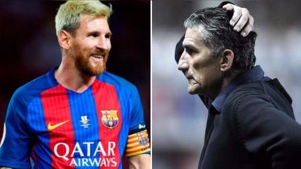 Edgardo Bauza responsabilizó al Barcelona de la lesión de Messi