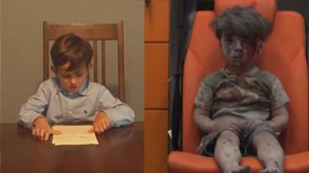 Facebook: un niño le escribe una carta a Obama para hacerle un pedido sobre Omran