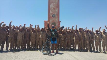 Militar recorre país para incentivar deporte en soldados con discapacidad