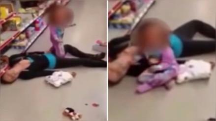 Niña intentó reanimar a su madre mientras esta sufría una sobredosis