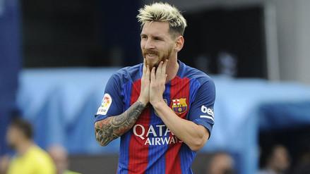 Lionel Messi agradeció los buenos deseos del tuit del Monchengladbach