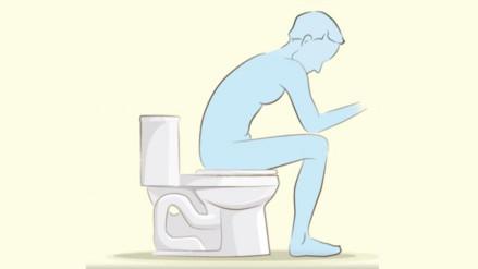 Facebook: video revela cuál es la forma correcta de sentarse en el inodoro