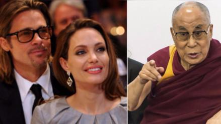 Líder religioso Dalai Lama considera triste la separación de 'Brangelina'