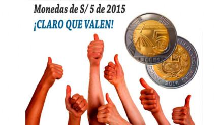 YouTube: BCR aclara, nuevamente, el rumor con respecto a las monedas de S/.5