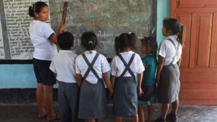 Nueve de cada diez niñas en la Amazonía no termina el colegio