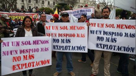 Ni Un Sol Menos: Así se desarrolló la marcha contra la reducción de sueldos
