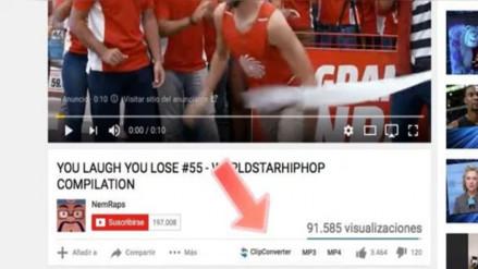 Así puedes descargar videos de YouTube con solo presionar un botón