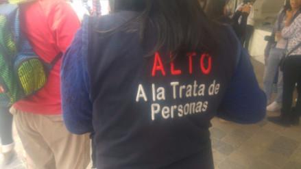 """Cajamarca: Celebran """"Día Nacional Contra la Trata de Personas"""""""