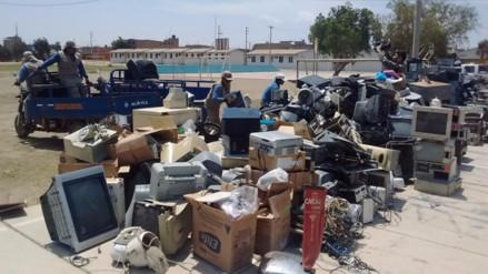 Recolectan más de seis toneladas de residuos electrónicos