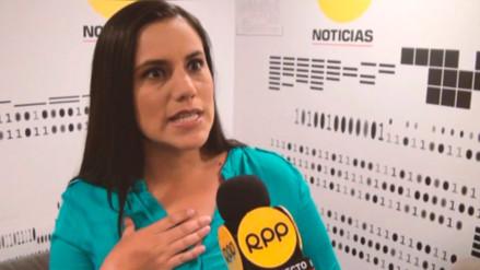 """Mendoza: """"Estamos aquí para decir al fujimorismo que el Congreso no es su chacra"""""""