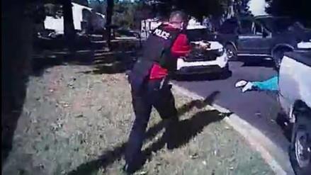 La policía difunde videos de la muerte de afroamericano en Charlotte