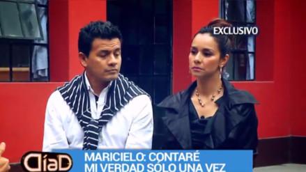 Maricielo Effio y su esposo juntos pese a denuncias por maltrato