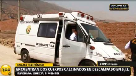 Cuerpos calcinados encontrados en Jicamarca son de una madre y su hija