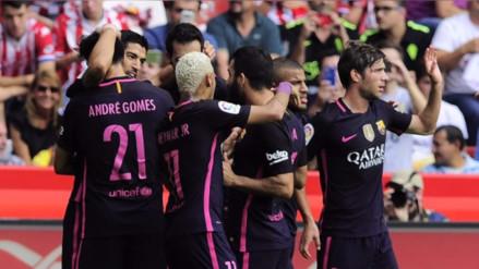 Neymar brilla ante la ausencia de Messi en triunfo del Barcelona