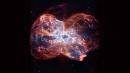 La NASA publicó la foto de la muerte de una estrella similar al Sol