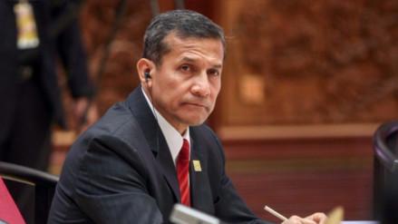 Ollanta Humala declarará ante la Fiscalía el 28 de setiembre